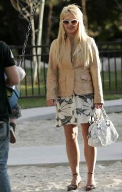 Britney en parque